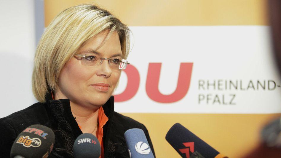 "CDU-Spitzenkandidatin Julia Klöckner: ""Empört und enttäuscht"""