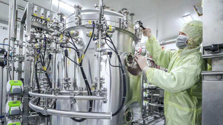 Produktionsanlage für Impfstoffe in China