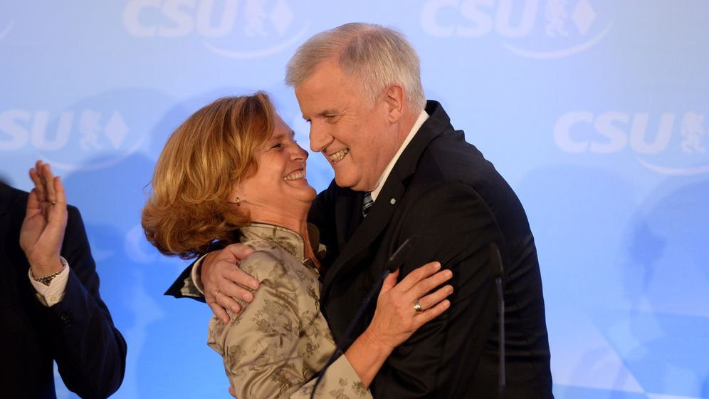 Wahl in Bayern: Triumph für Seehofer
