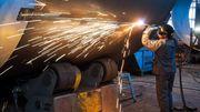 Industrieproduktion bricht ein