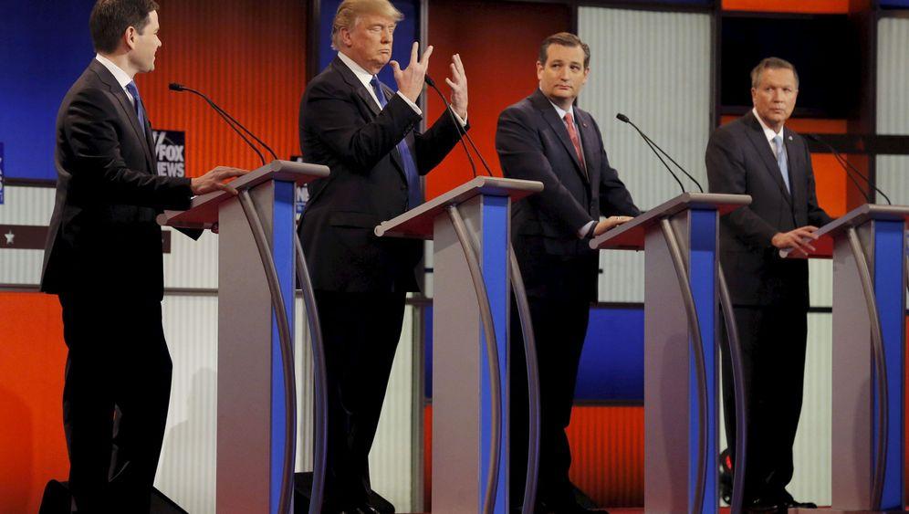 """TV-Debatte der Republikaner: """"Schaut euch diese Hände an"""""""