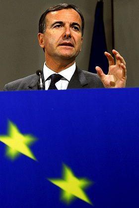 """EU-Justizkommissar Franco Frattini: Webblockade für """"böse Wörter""""?"""