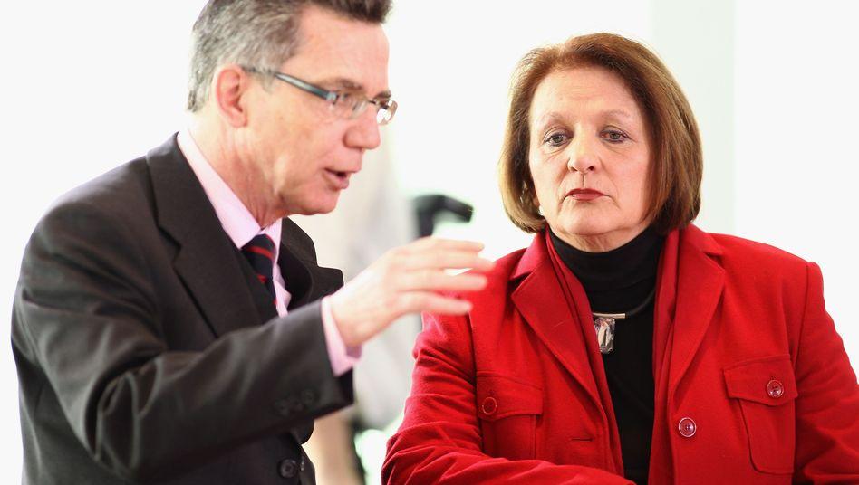 Minister de Maizière und Leutheusser-Schnarrenberger: Datenschutz verbessern