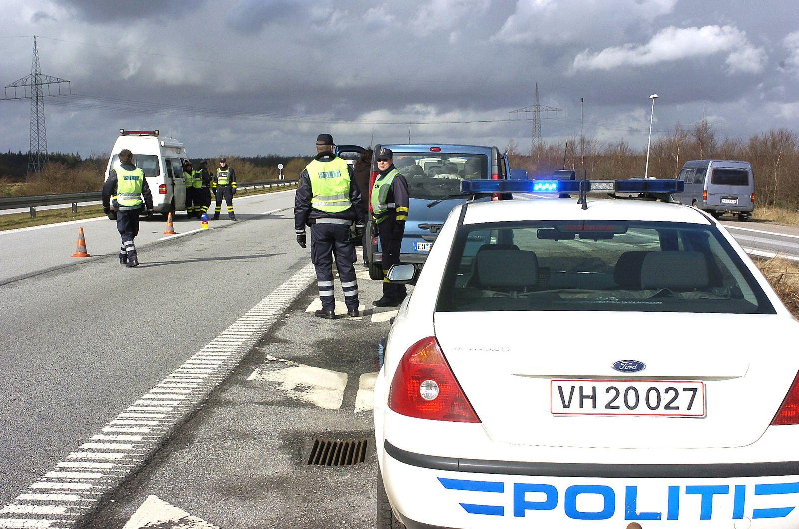 Grenzkontrolle Dänemark 2007