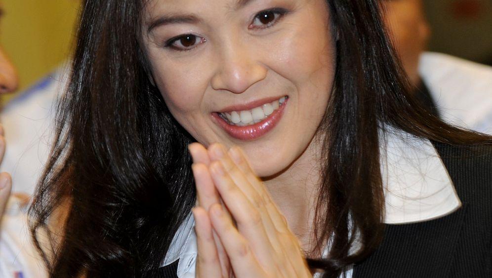 Wahlkampf in Thailand: Die schöne Frau Thaksin