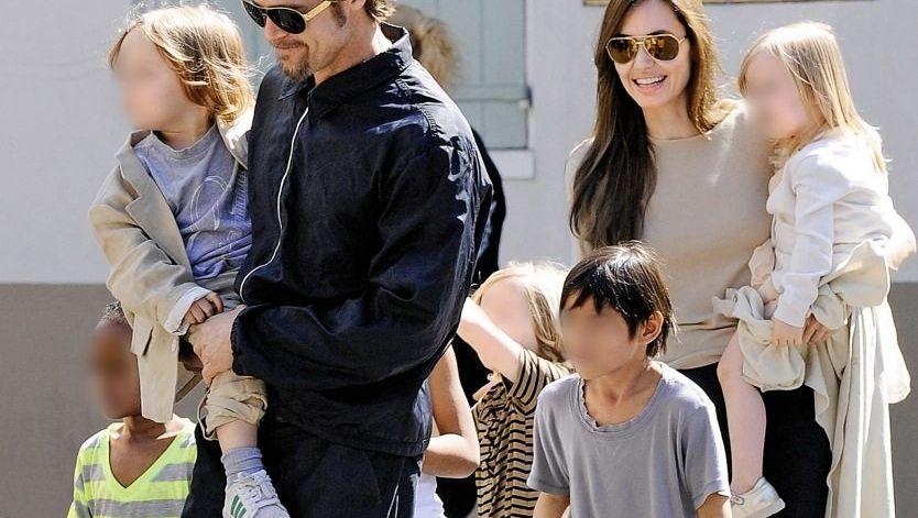 Partner Pitt, Jolie, Kinder 2011 »Das Richtige für unsere Familie«