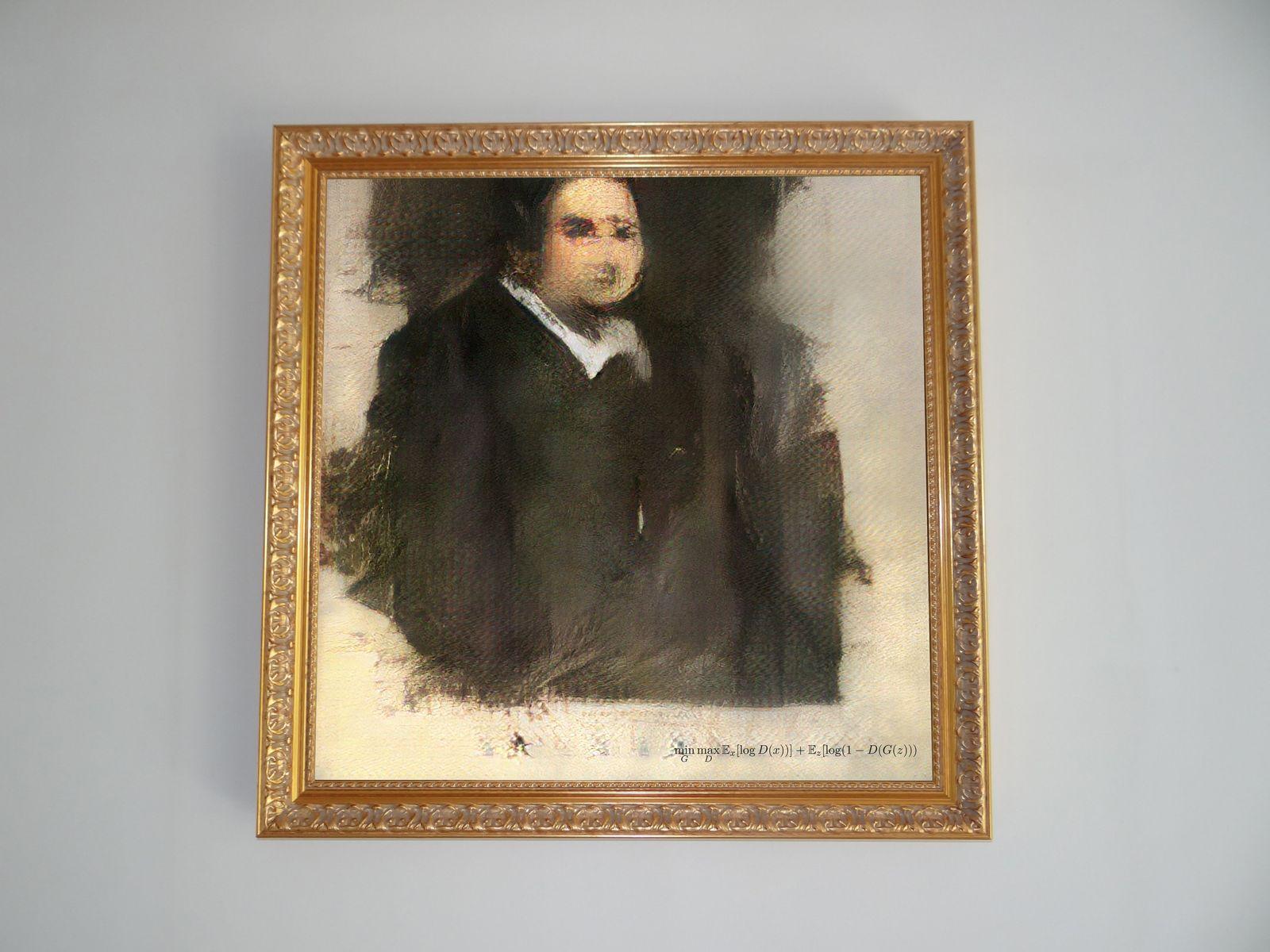 Christies versteigert erstmals KI-Gemälde