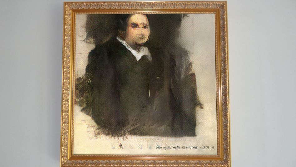"""Gemälde """"Edmond de Belamy"""""""