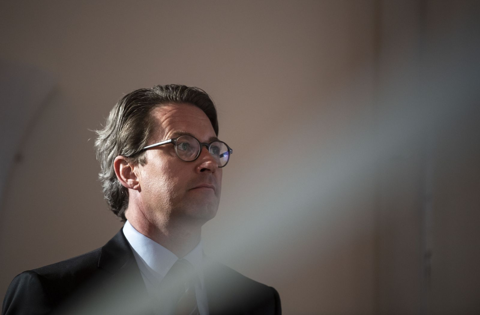 German Transport Minister presents plans for new ICE plant, Nuremberg, Germany - 05 Oct 2020