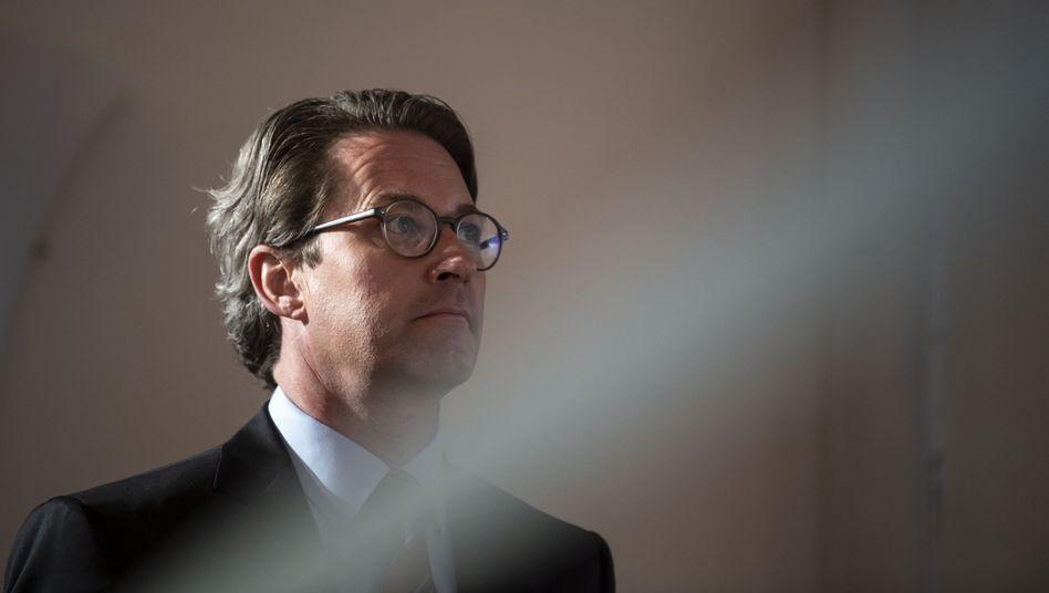 Der Bundesverkehrsminister im Oktober 2020: »Es verdichten sich die Hinweise, dass Andreas Scheuer wieder einmal gelogen hat«