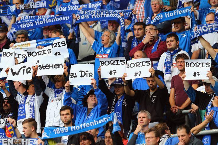Hoffenheim-Fans: Grüße an den vor einem Jahr verunglückten Vukcevic