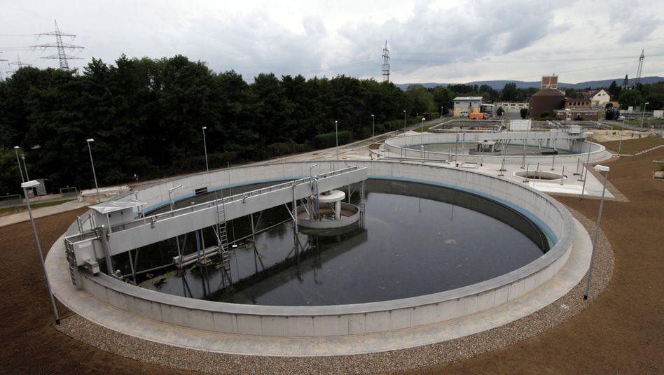 Klärwerk: Energieverbrauch im Wassersektor steigt an