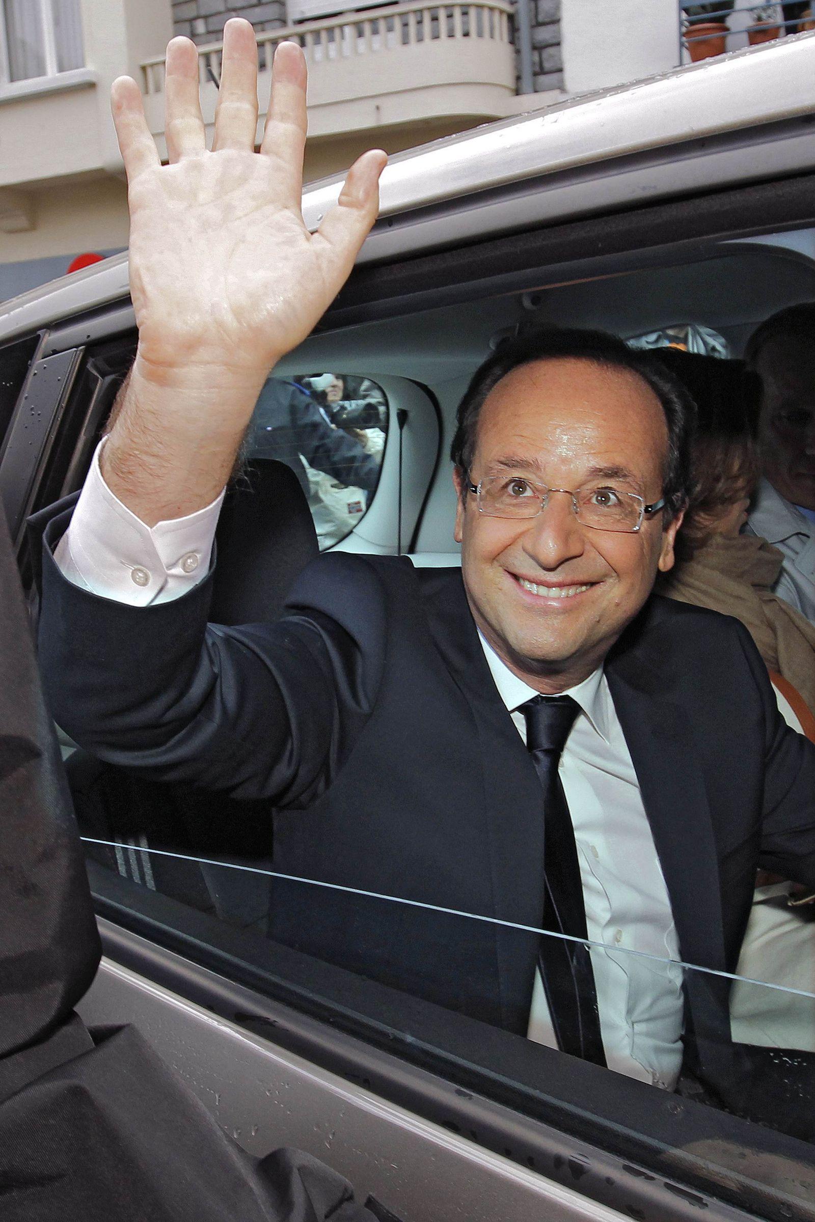 XXL Frankreich Wahl/ Hollande
