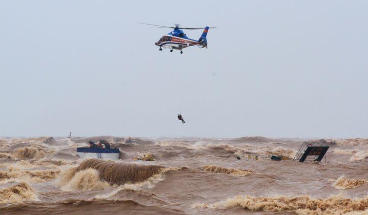 Rettungsaktion vor der Küste der Provinz Quang Tri