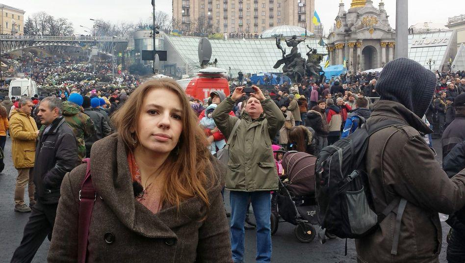 """Weisband am Sonntag auf dem Maidan: """"Stimmung kann jederzeit kippen"""""""