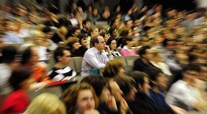Studienplätze: Mancherorts so begehrt wie rar