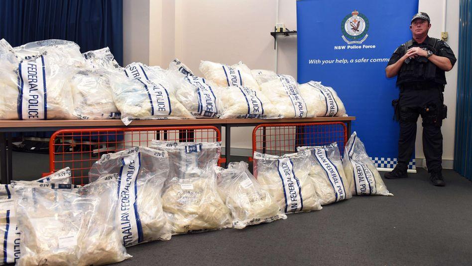 Container aus Hamburg: Milliardenschwerer Drogenfund in Australien
