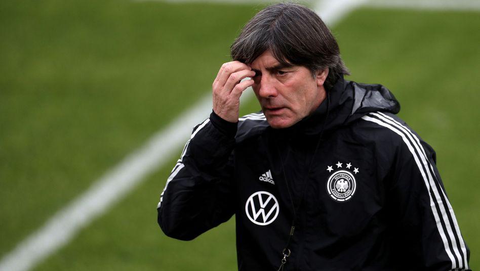 Der Bundestrainer beim Training in Dortmund