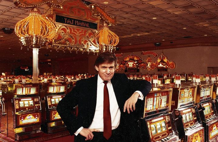 Then casino owner Trump in 1990: Trump has never been a very successful entrepreneur. He inherited a large part of his fortune, more than $400 million, from his father.