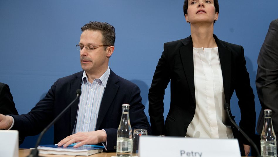 Ehemalige AfD-Politiker Pretzell und Petry