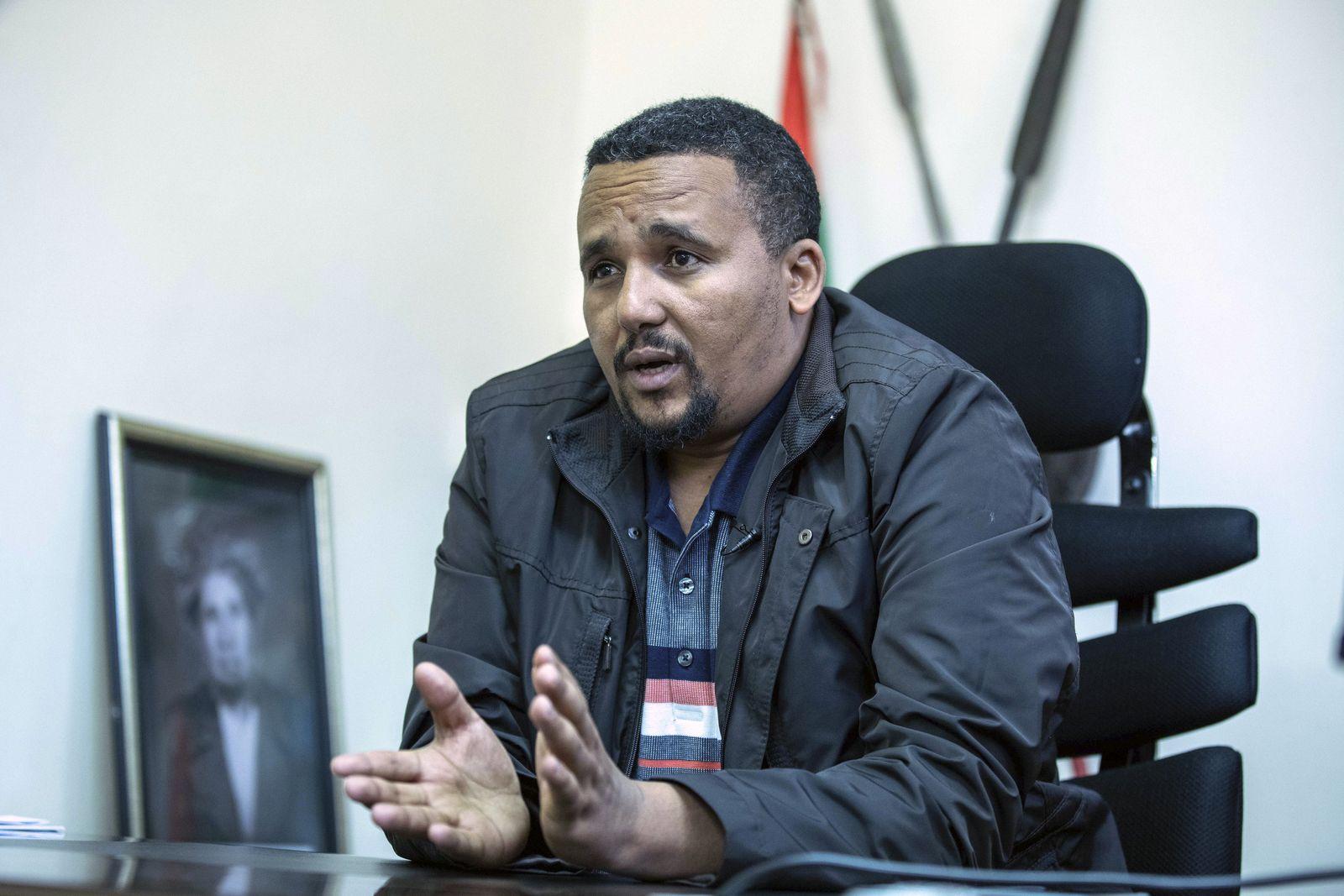 Jawar Mohammed Oromo OMN Äthiopien