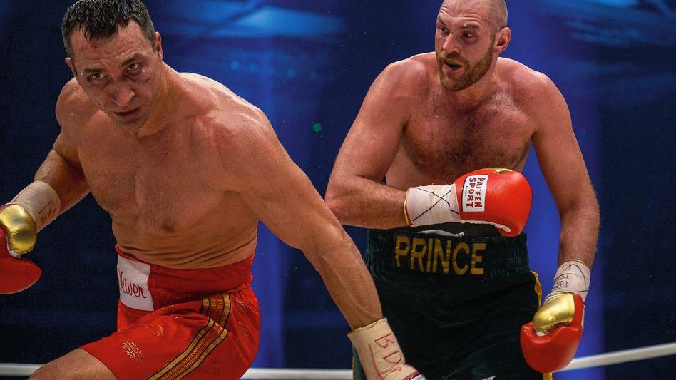 Boxer Klitschko, Fury 2015 in Düsseldorf »Eine Lehrstunde«