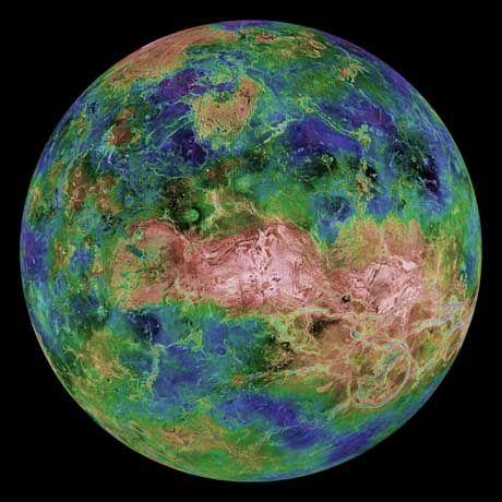 Venus: Möglicherweise zwei Milliarden Jahr lang bewohnbar