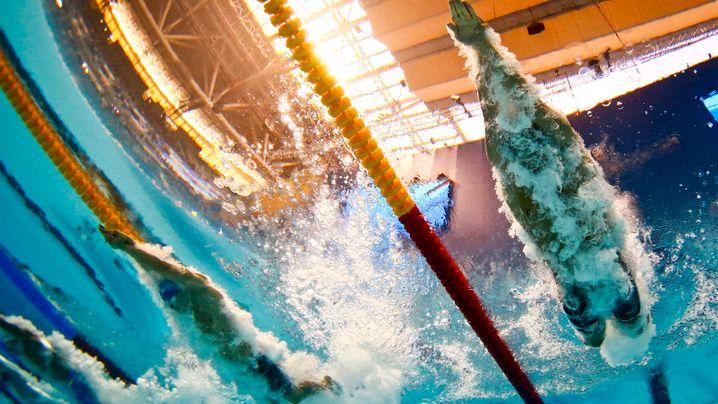 Bilder der Schwimm-WM: Rekorde in Regenbogenfarben