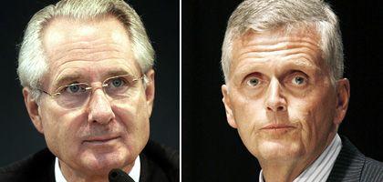 Ex-Aufsichtsratschef Zumwinkel, Ex-Chef Ricke: Brisante Aussage