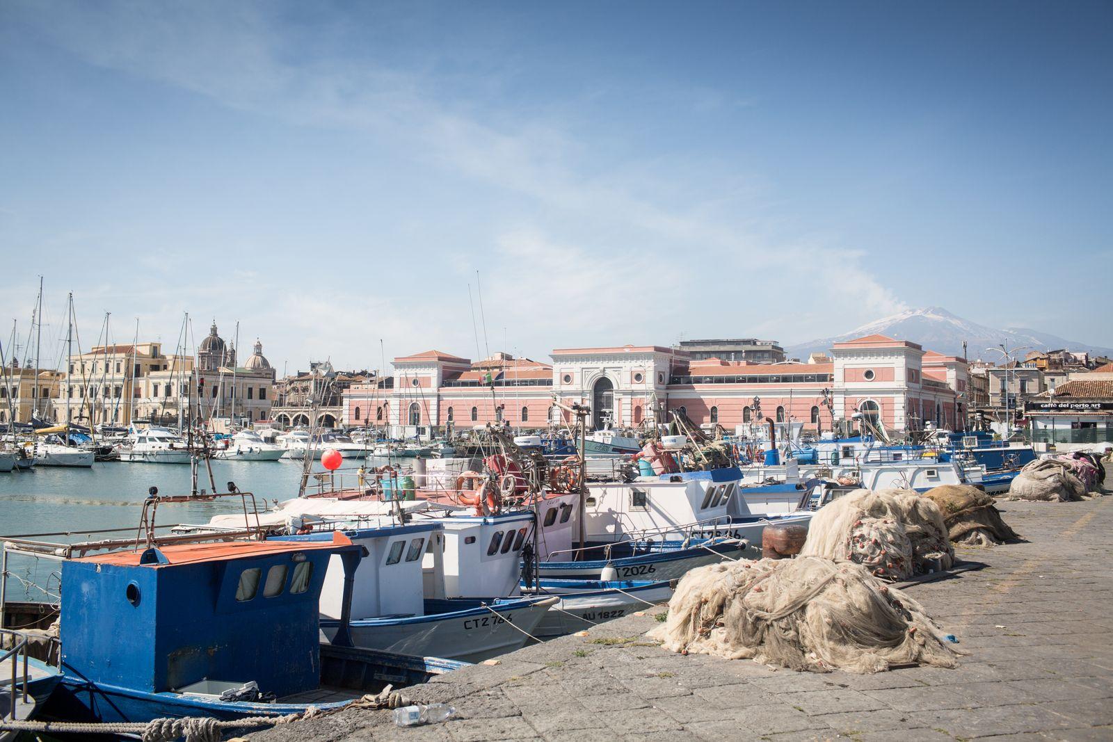 New Arrivals/ Scafista - Schleuser Sizilien