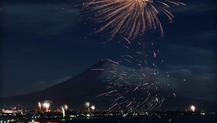 Leben unter dem Vulkan: Entwarnung am Mayon