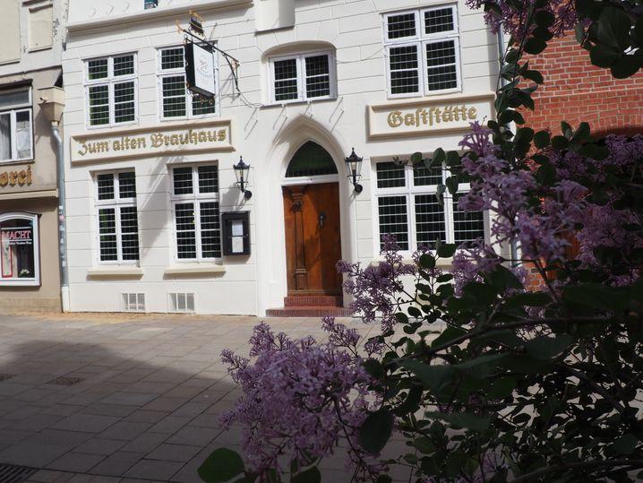Altes Brauhaus in der Lüneburger Fußgängerzone