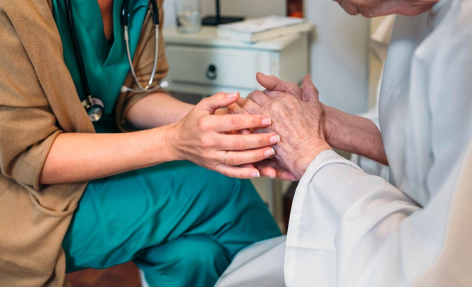 EINMALIGE VERWENDUNG Arztgespräch