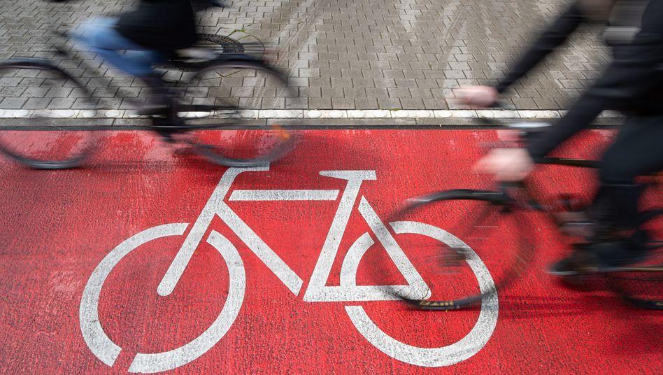 Boomendes Verkehrsmittel: Fahrräder in Osnabrück