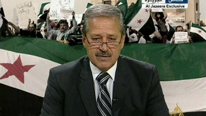 """Übergelaufener syrischer Botschafter: """"Ich kämpfe jetzt für die Revolution"""""""