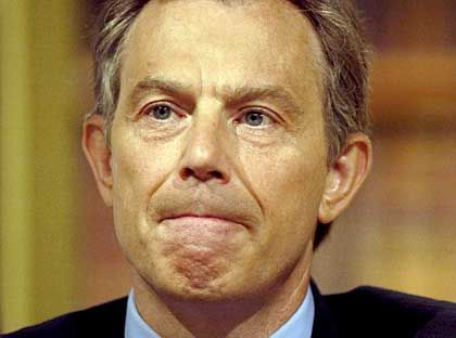 """Premier Blair: """"Das hier zeigt, was der Terrorismus erreichen kann"""""""