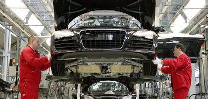 Audi-Produktion in Neckarsulm: Straßenbau gegen die Rezession
