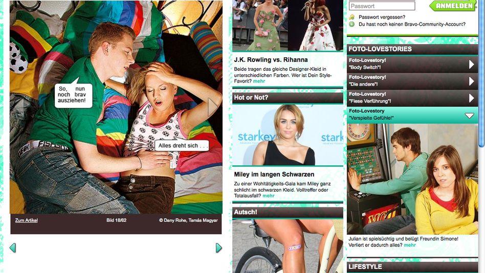 """Foto-Love-Story auf Bravo.de: """"HIV und sexualisierte Gewalt sind zu viel"""""""