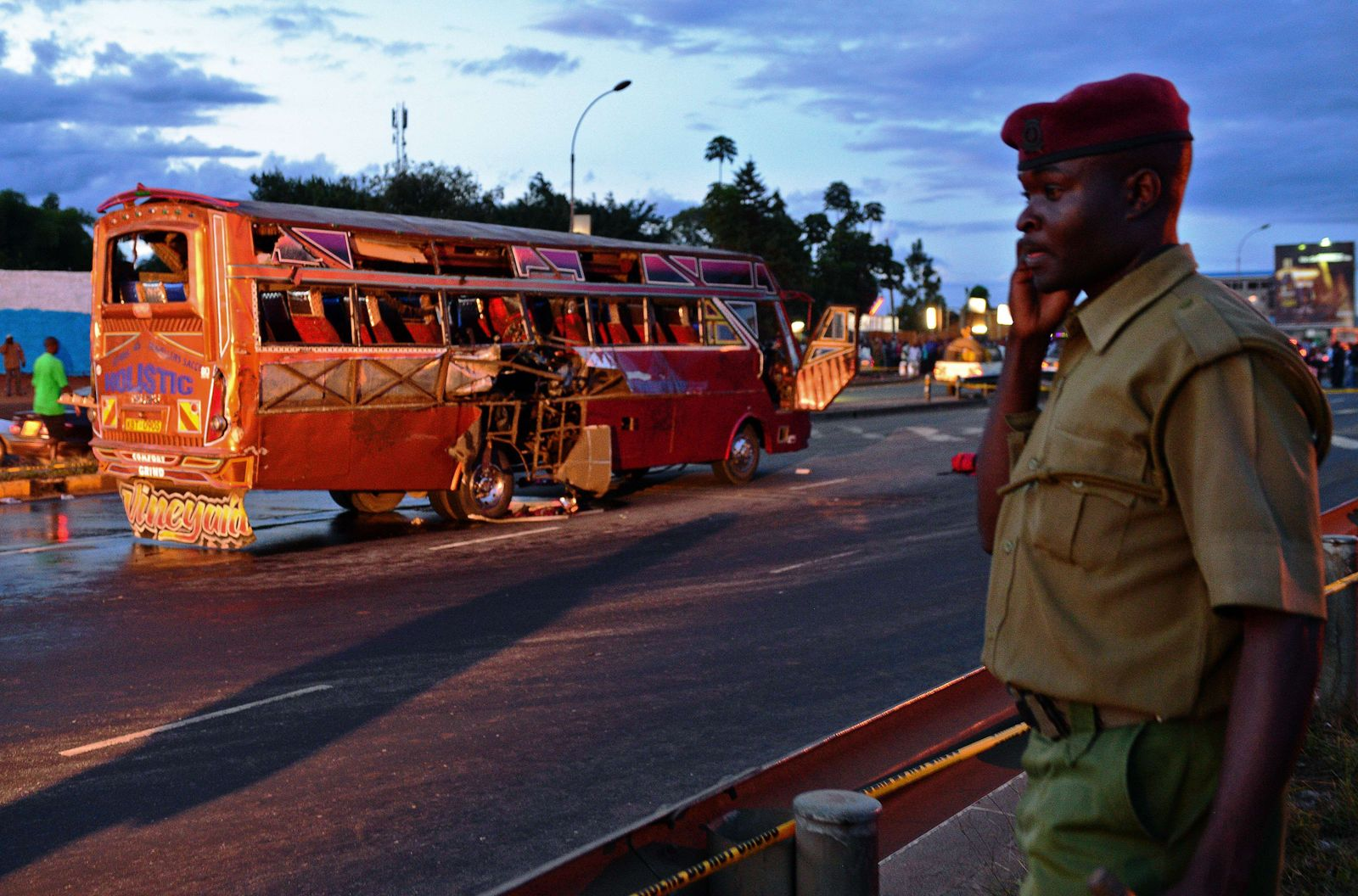 Kemia: Bomebanschlag auf Bus in Nairobi