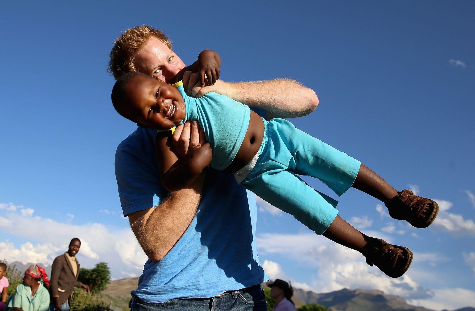 Prinz Harry/ Lesotho