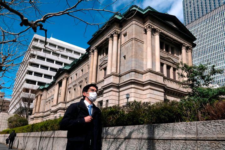 Bank of Japan in Tokio