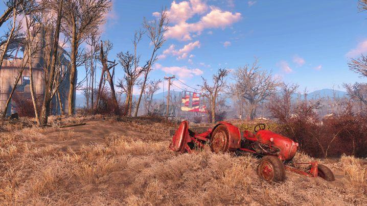 """Die Welt von """"Fallout 4"""" ist nicht sonderlich belebt, lädt aber zum Erkunden ein"""