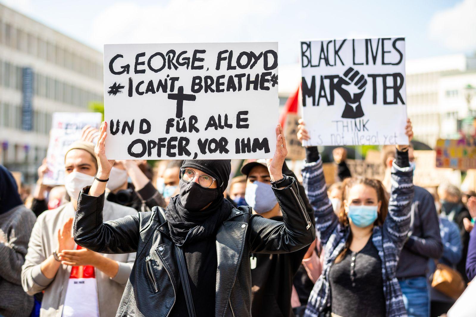 Demonstration gegen Rassismus - Hannover