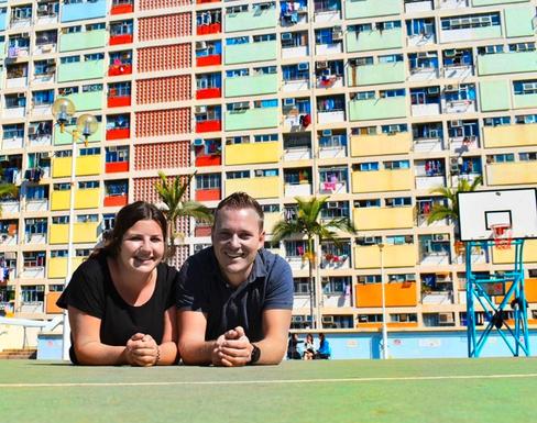 Deborah Zenhäusern, 24, Reisebürokauffrau, und Jean-Marc Vogel, 31, Softwareentwickler: Seit Juni 2019 ist das Paar unterwegs. Nach Afrika mit Ländern wie Namibia und Südafrika, Asien, Australien und Neuseeland waren sie in Ecuador angekommen. Auf dem Plan standen noch Peru, Bolivien und Nordamerika.