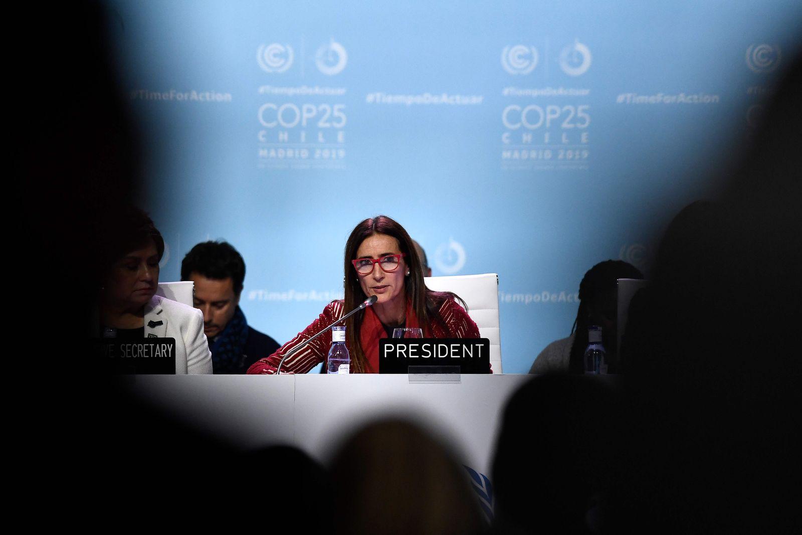 COP25/ Klimakonferenz/ Madrid
