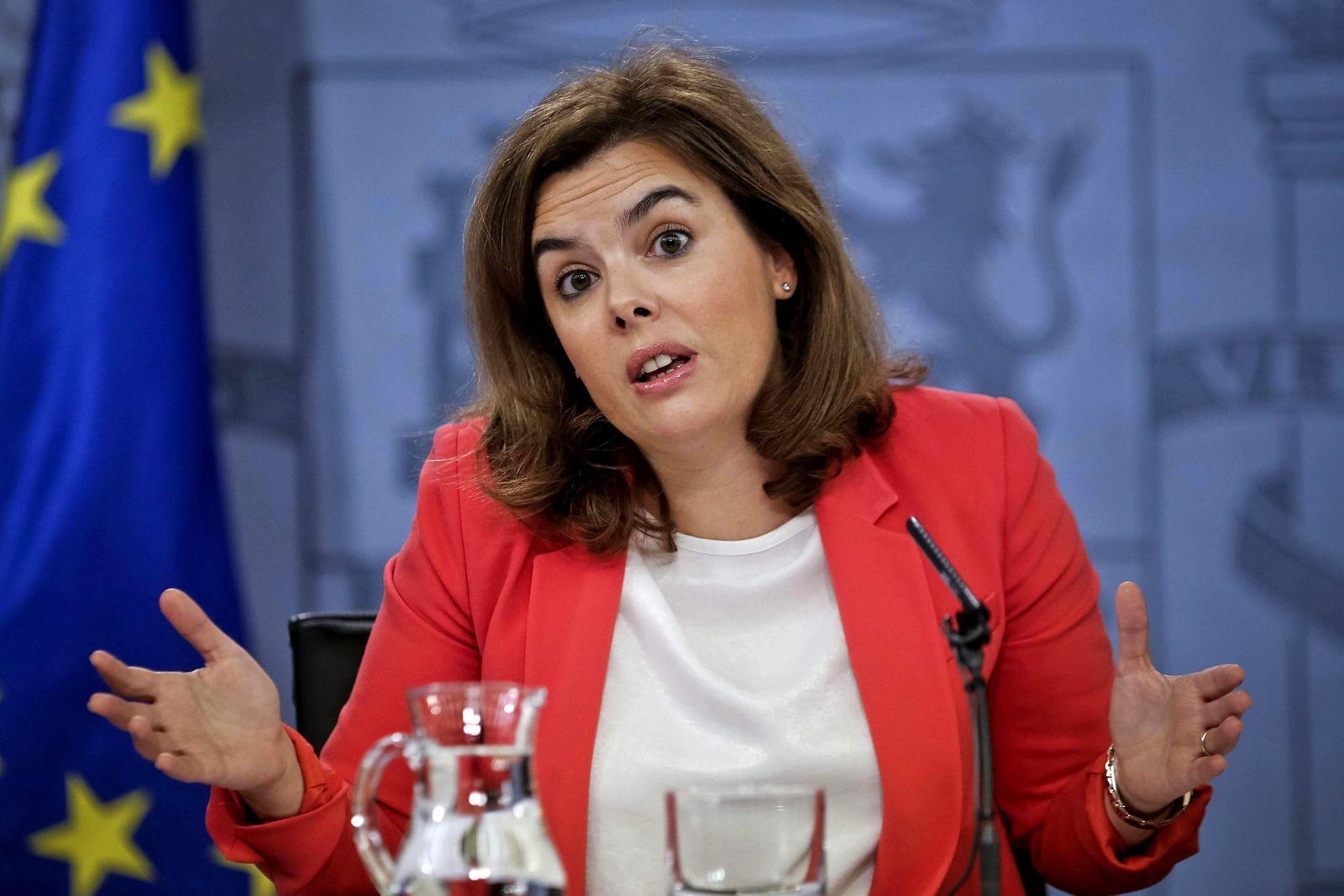 Cabinet meeting presser in Spain