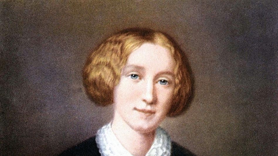 Dichterin Eliot (Gemälde von François d'Albert-Durade, um 1850): Willensstärke und Eigensinn