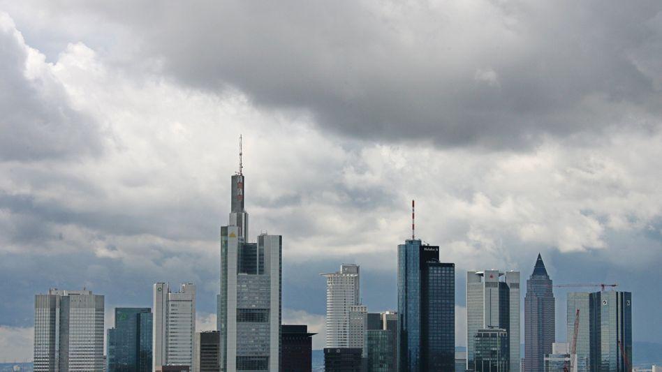 """Banken-Skyline in Frankfurt: """"Die Finanzkrise hat strafrechtliche Relevanz"""""""