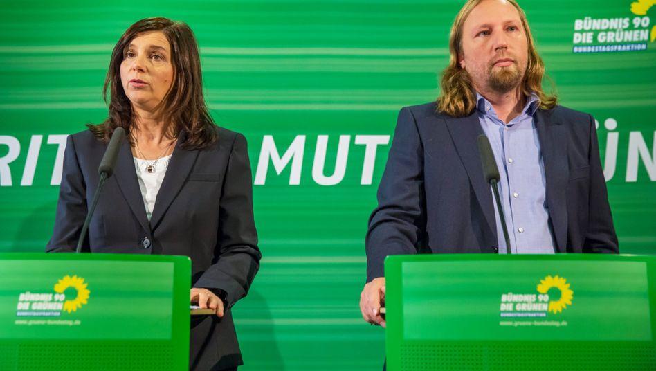 Grüne Fraktionsspitze Göring-Eckardt, Hofreiter: Schonzeit vorbei
