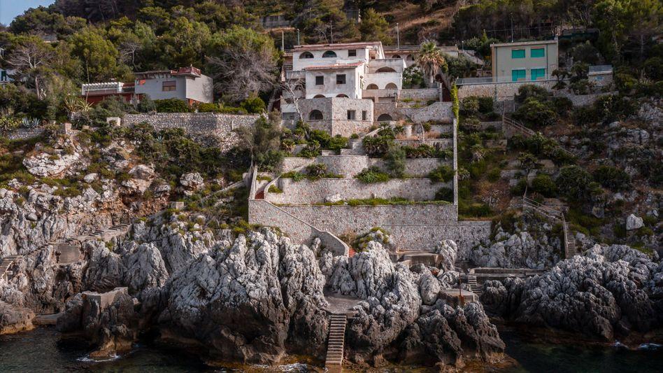 A villa belonging to Cosa Nostra hitman Giuseppe Greco.